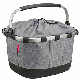 KlickFix Reisenthel Carrybag GT Bike Basket with UniKlip, twist silver